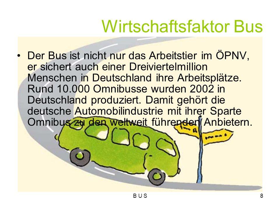 Wirtschaftsfaktor Bus