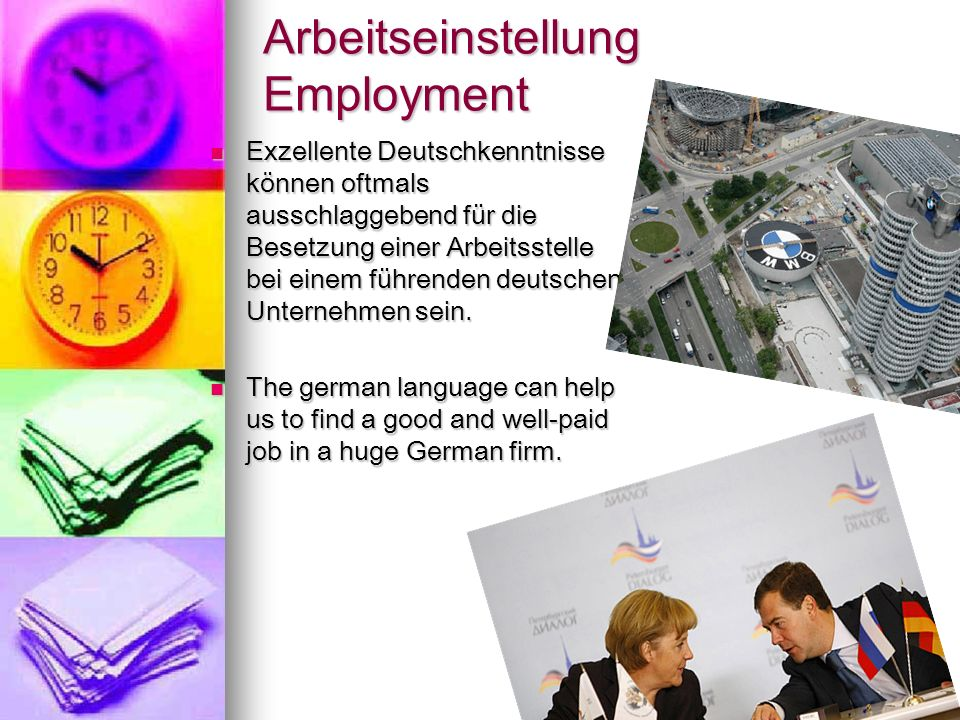 Arbeitseinstellung Employment