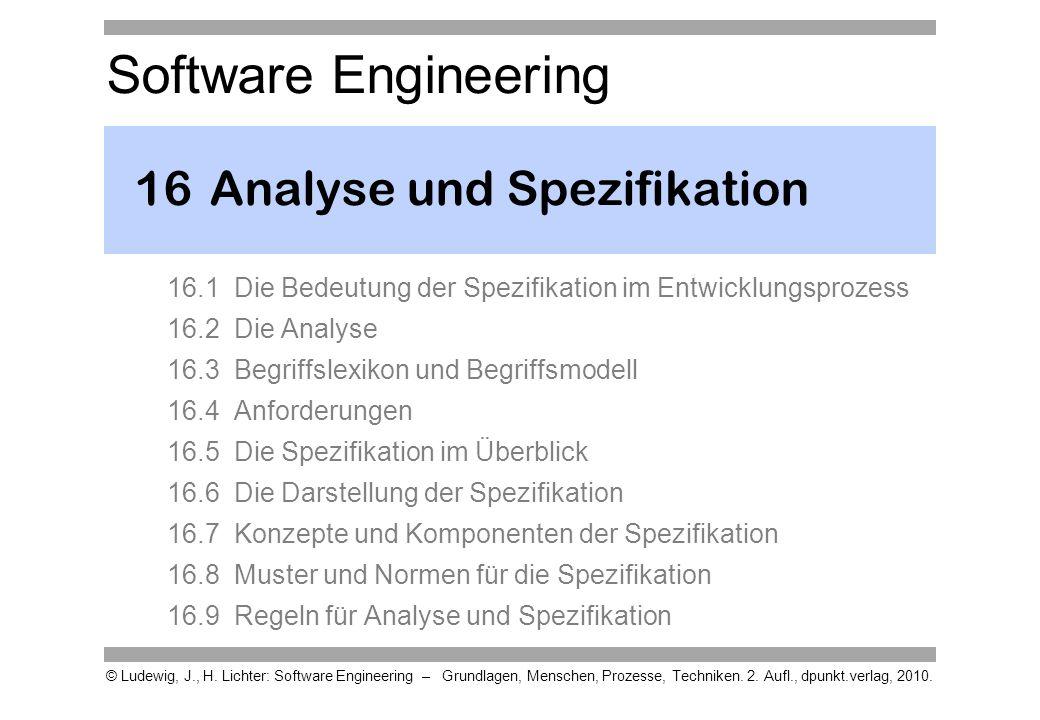 16 Analyse und Spezifikation
