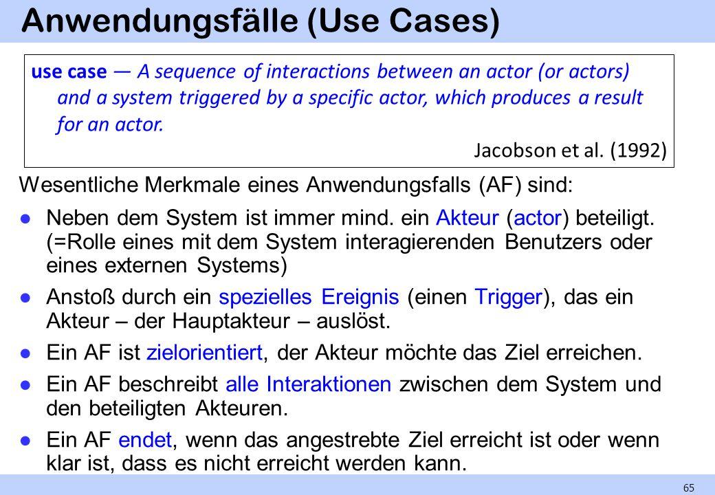 Anwendungsfälle (Use Cases)
