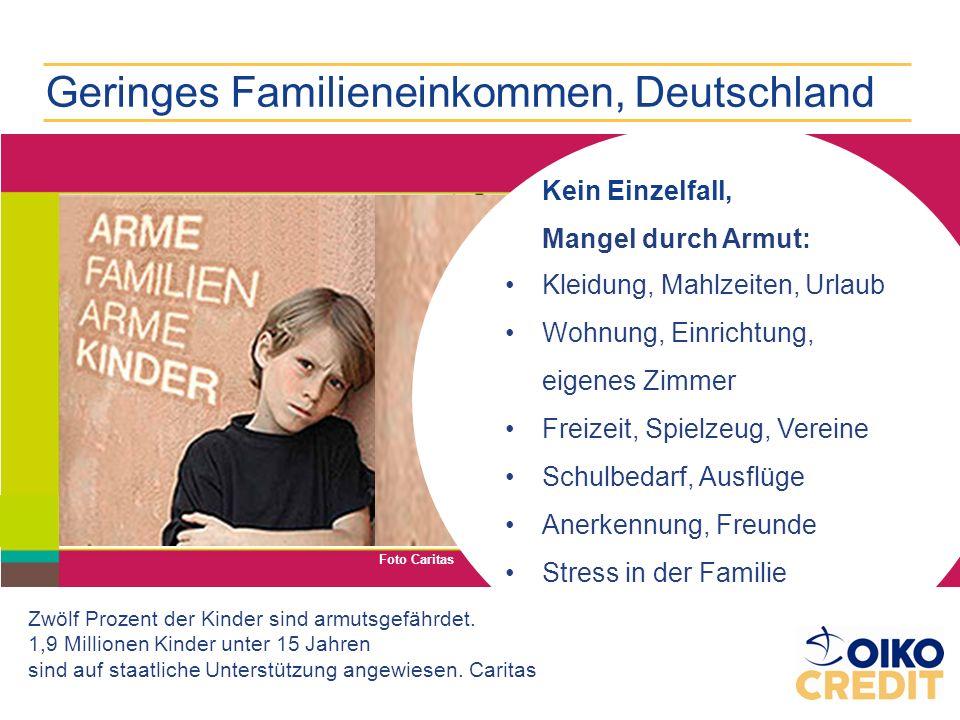 Geringes Familieneinkommen, Deutschland