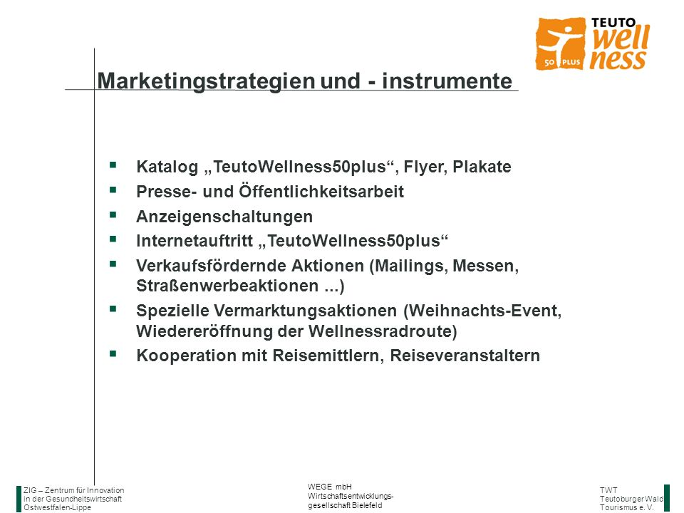 Marketingstrategien und - instrumente