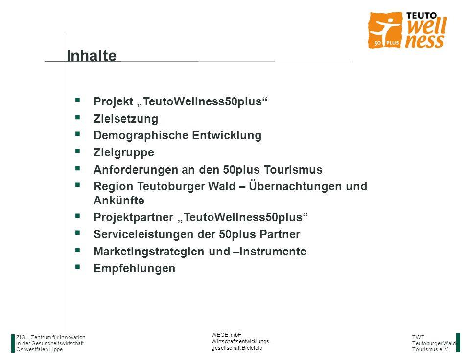 "Inhalte Projekt ""TeutoWellness50plus Zielsetzung"