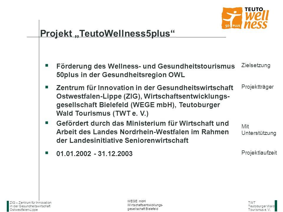 "Projekt ""TeutoWellness5plus"