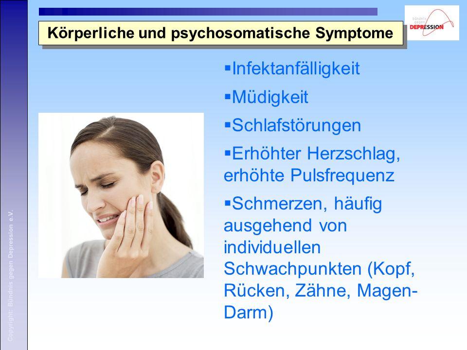Körperliche und psychosomatische Symptome