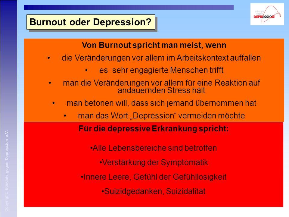 Von Burnout spricht man meist, wenn