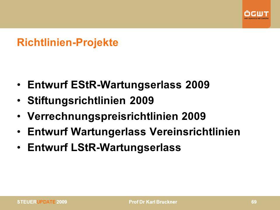Richtlinien-Projekte