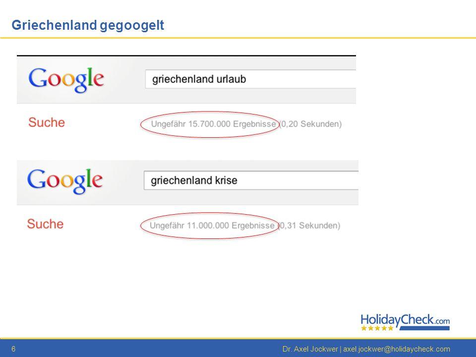 Griechenland gegoogelt