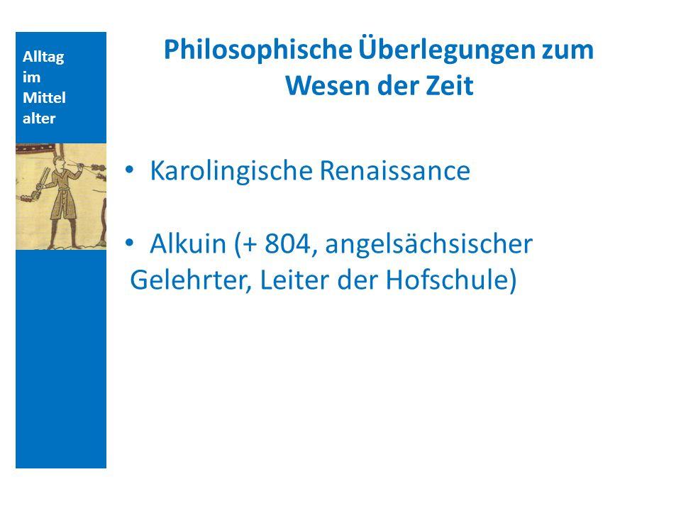 Philosophische Überlegungen zum Wesen der Zeit
