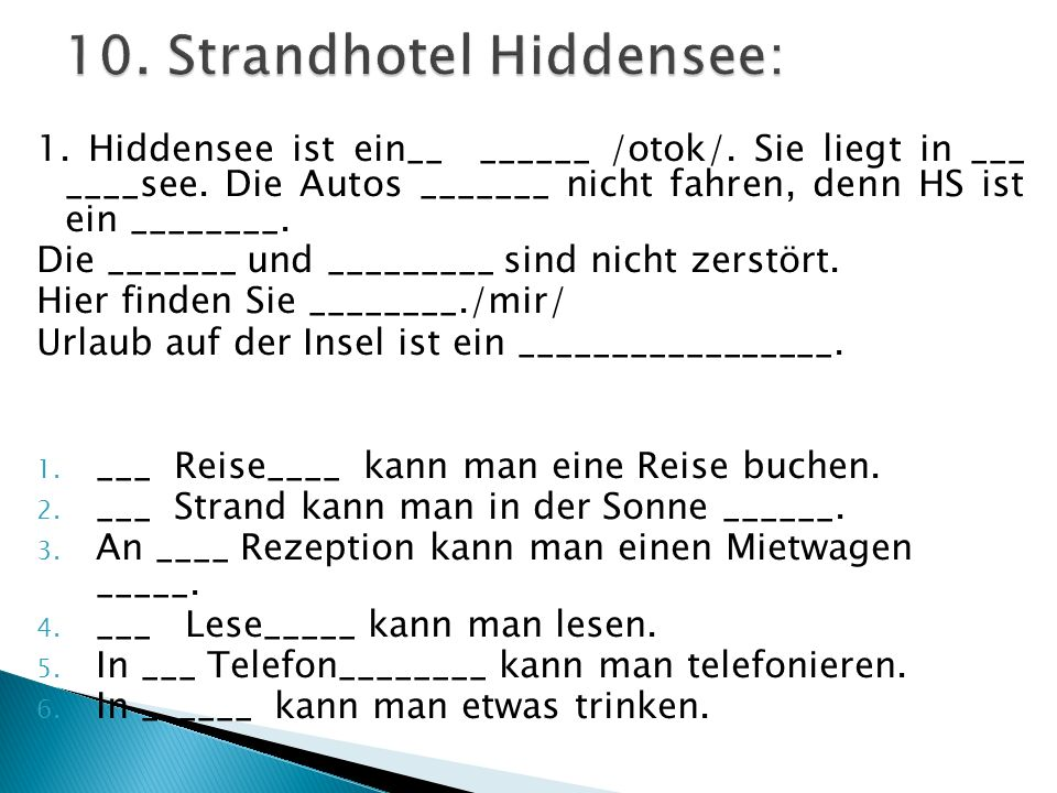 10. Strandhotel Hiddensee: