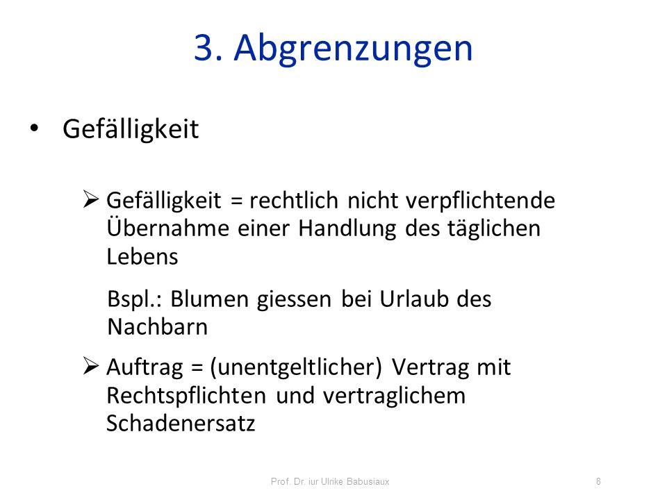 Prof. Dr. iur Ulrike Babusiaux