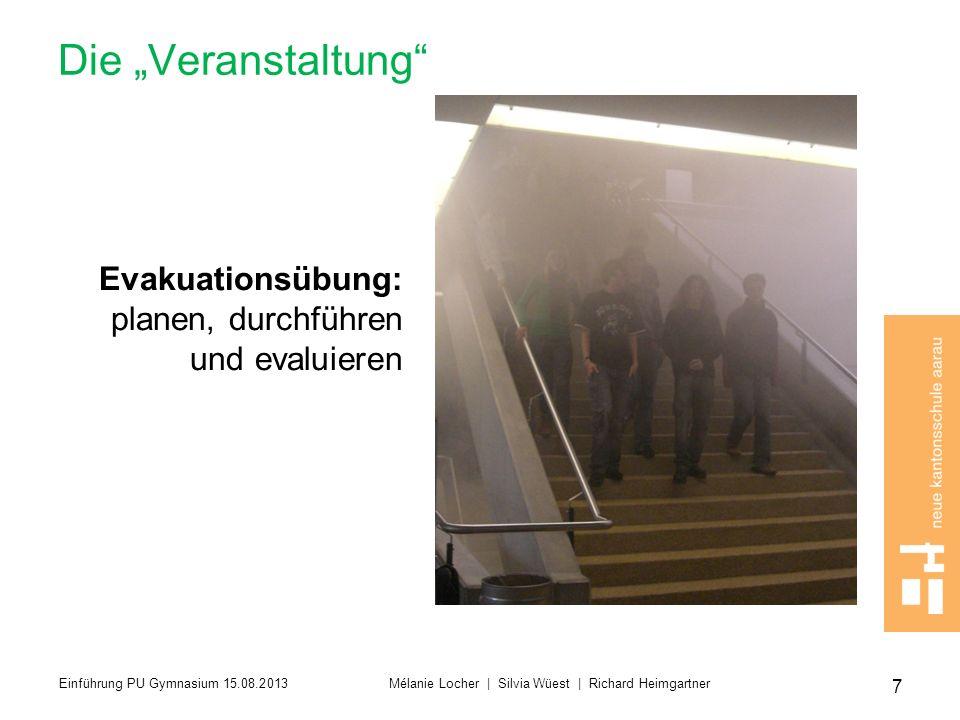 """Die """"Veranstaltung Evakuationsübung: planen, durchführen"""