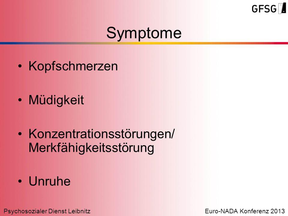 Symptome Kopfschmerzen Müdigkeit