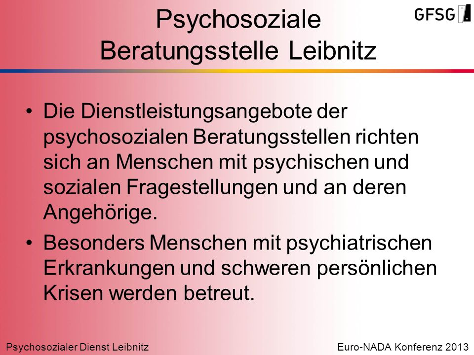 Psychosoziale Beratungsstelle Leibnitz