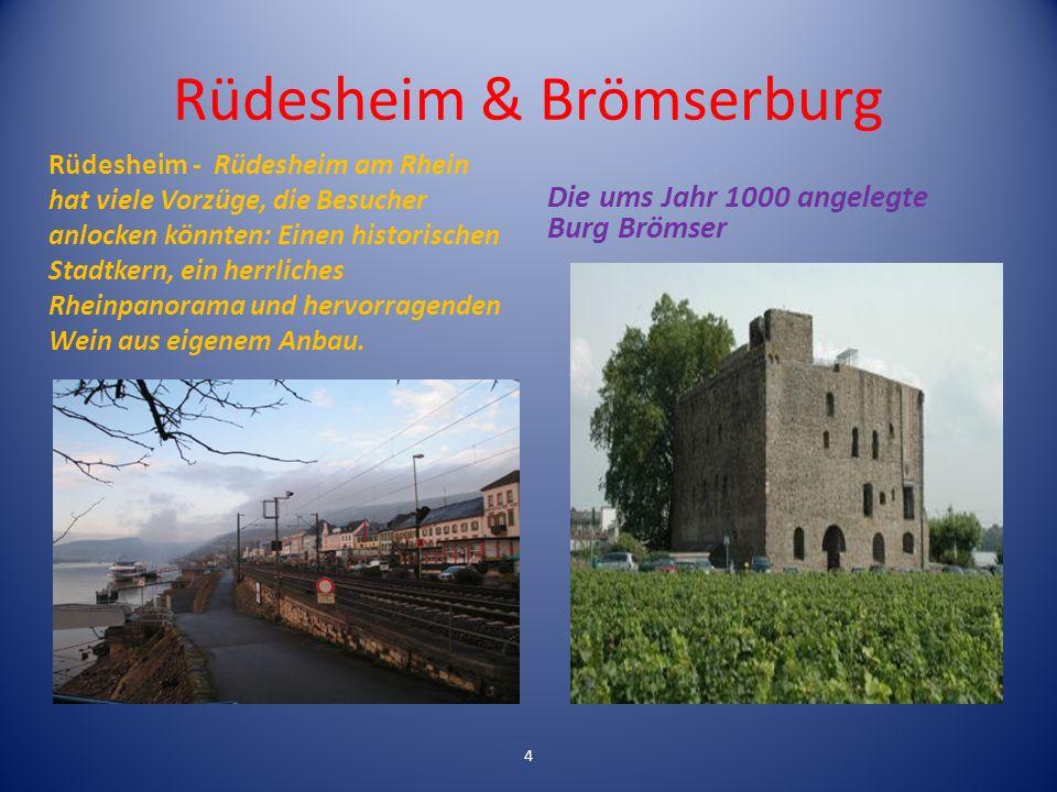 Rüdesheim & Brömserburg