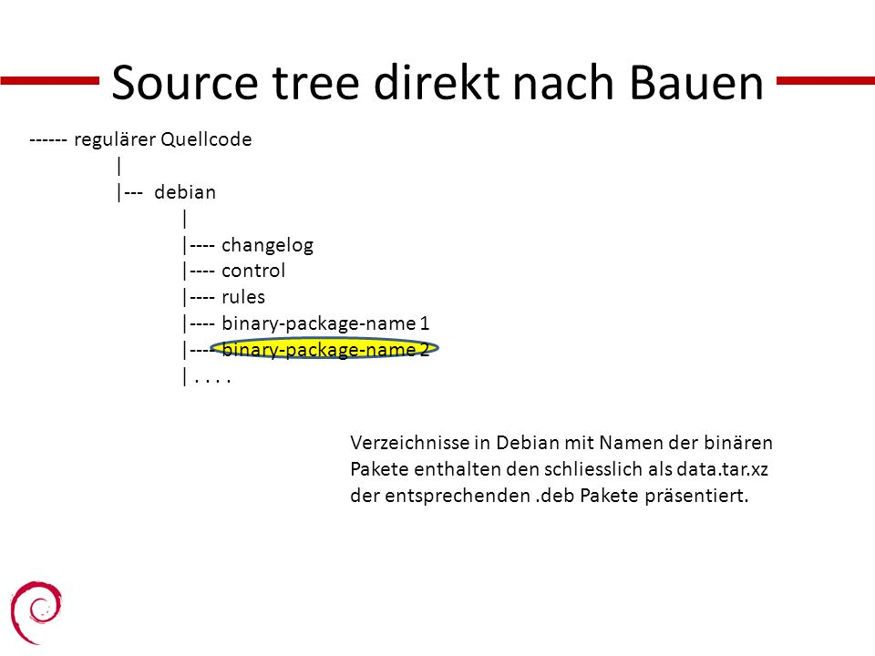 Source tree direkt nach Bauen