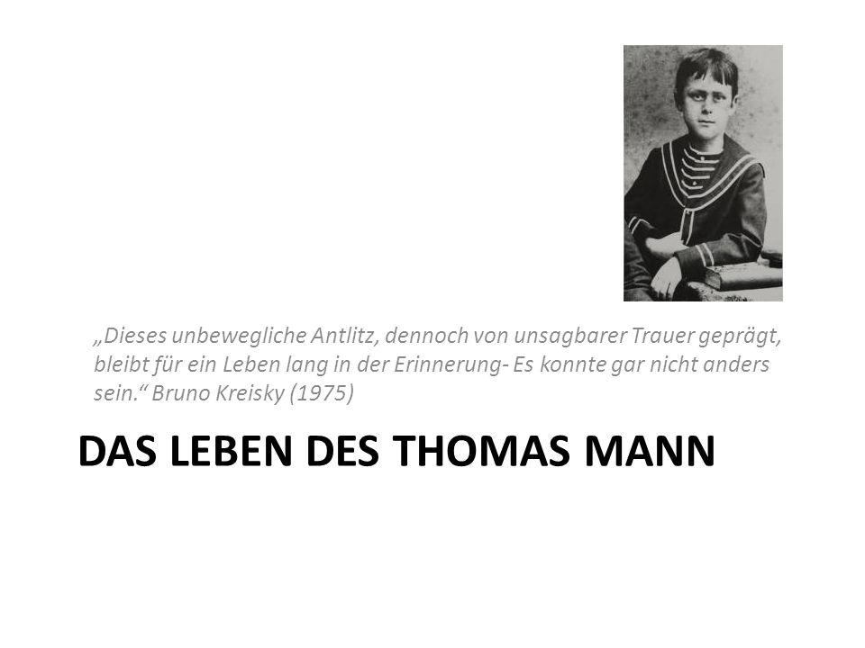 Das Leben des Thomas Mann