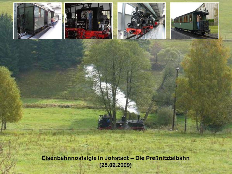 Eisenbahnnostalgie in Jöhstadt – Die Preßnitztalbahn