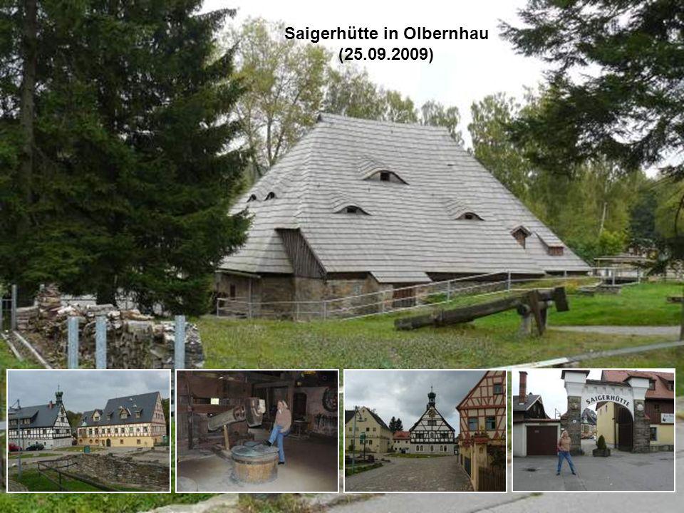 Saigerhütte in Olbernhau