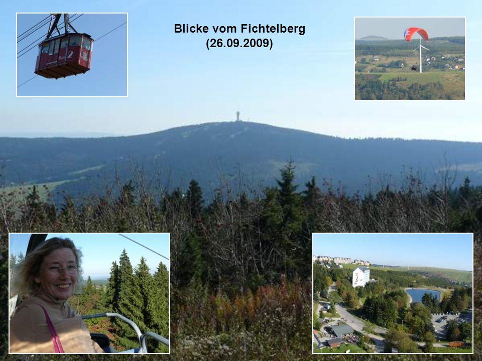 Blicke vom Fichtelberg