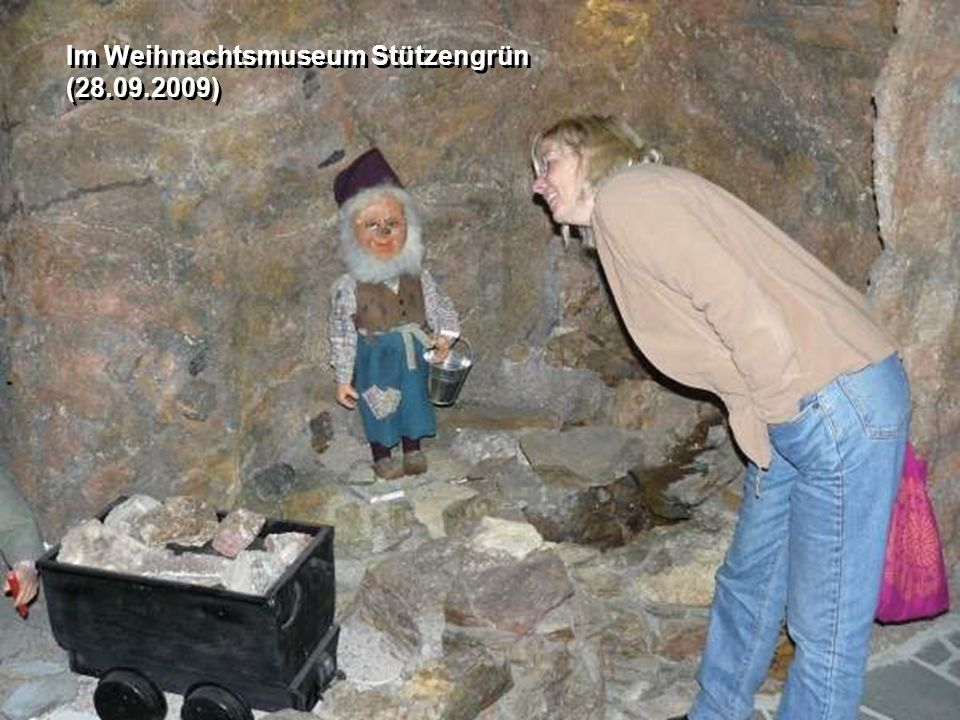 Im Weihnachtsmuseum Stützengrün