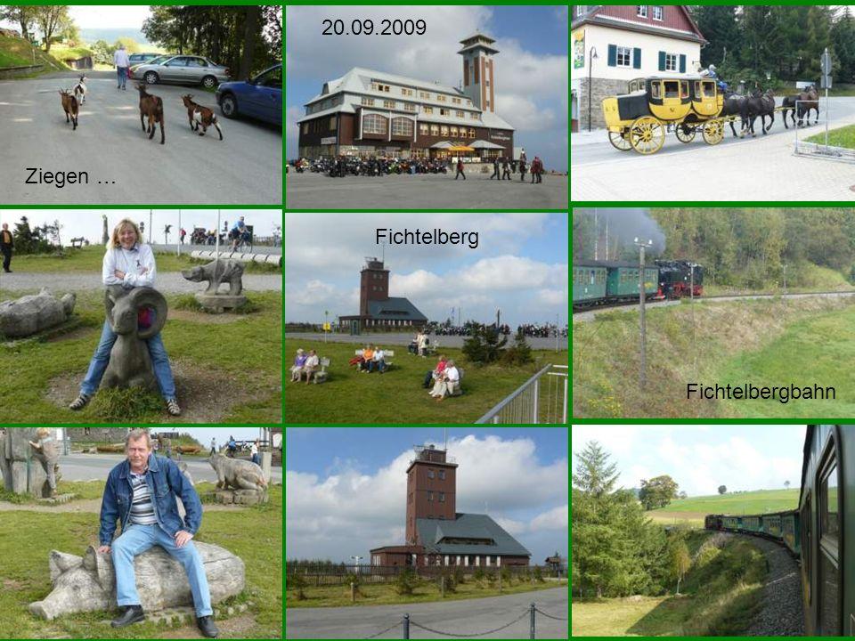 20.09.2009 Ziegen … Fichtelberg Fichtelbergbahn