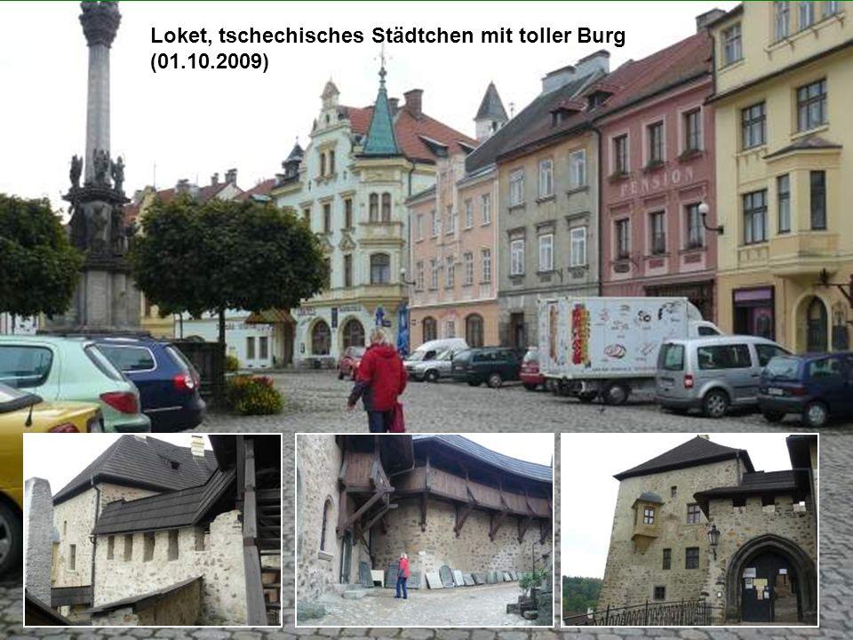 Loket, tschechisches Städtchen mit toller Burg