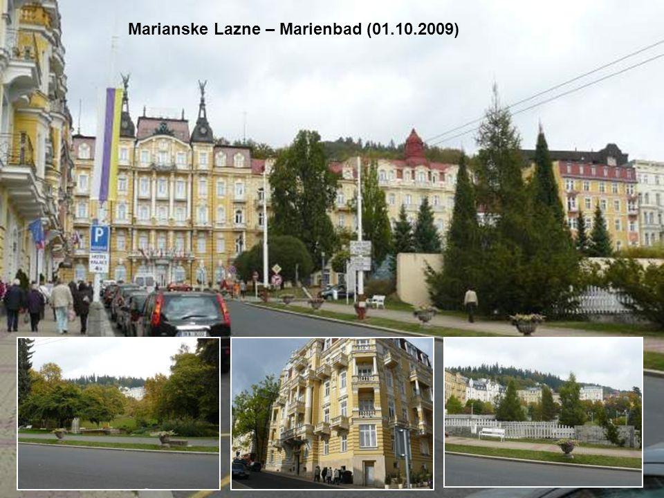Marianske Lazne – Marienbad (01.10.2009)