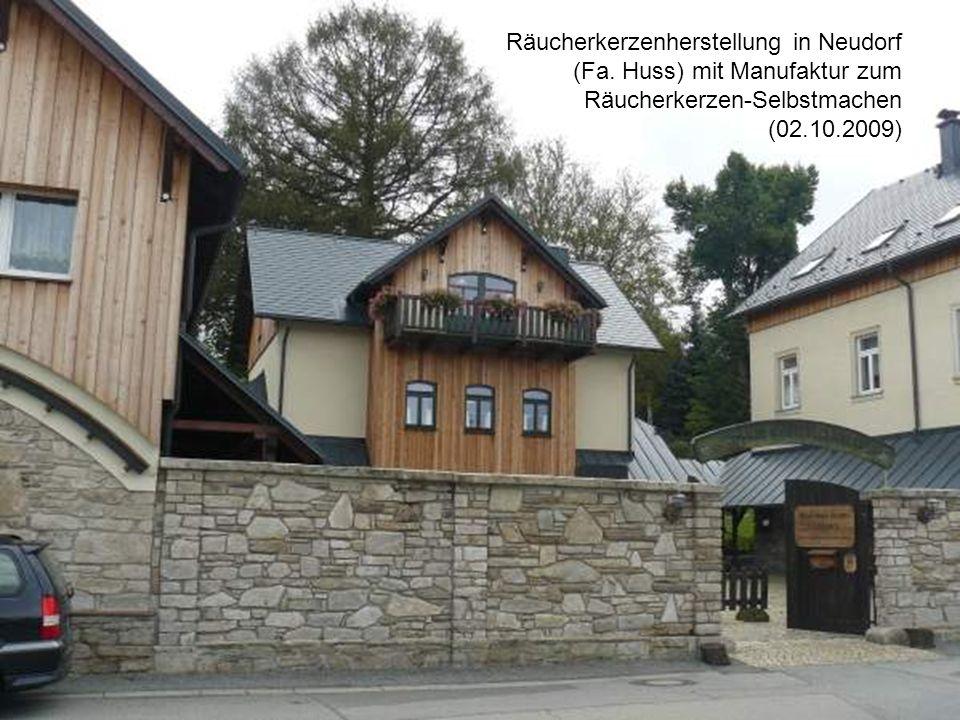Räucherkerzenherstellung in Neudorf (Fa