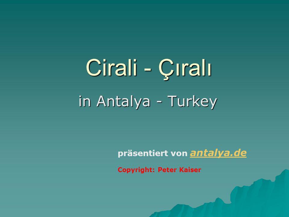 Cirali - Çıralı in Antalya - Turkey präsentiert von antalya.de
