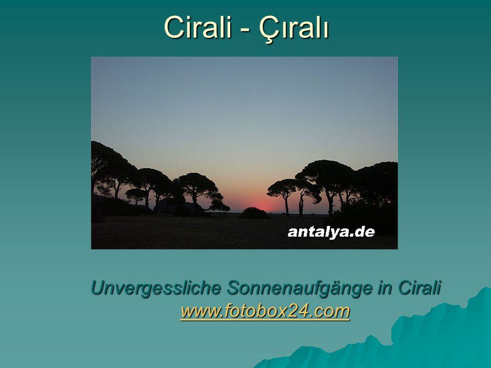 Unvergessliche Sonnenaufgänge in Cirali