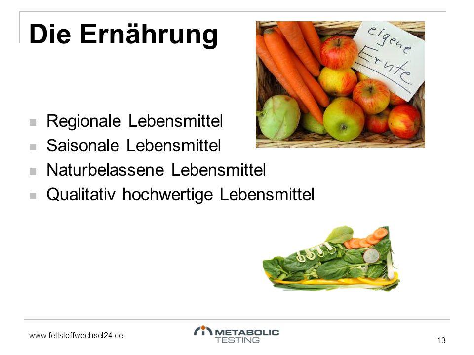 Die Ernährung Regionale Lebensmittel Saisonale Lebensmittel