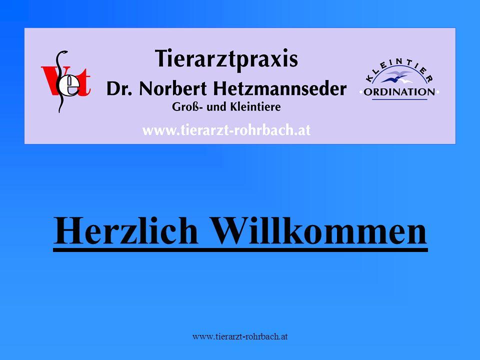 Herzlich Willkommen www.tierarzt-rohrbach.at
