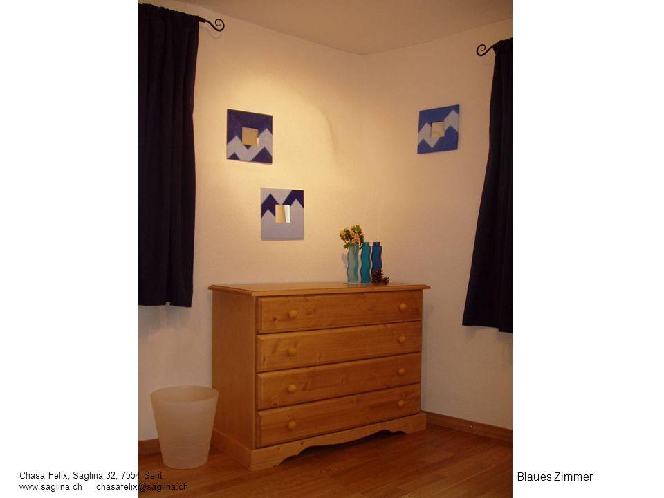 Blaues Zimmer Chasa Felix, Saglina 32, 7554 Sent