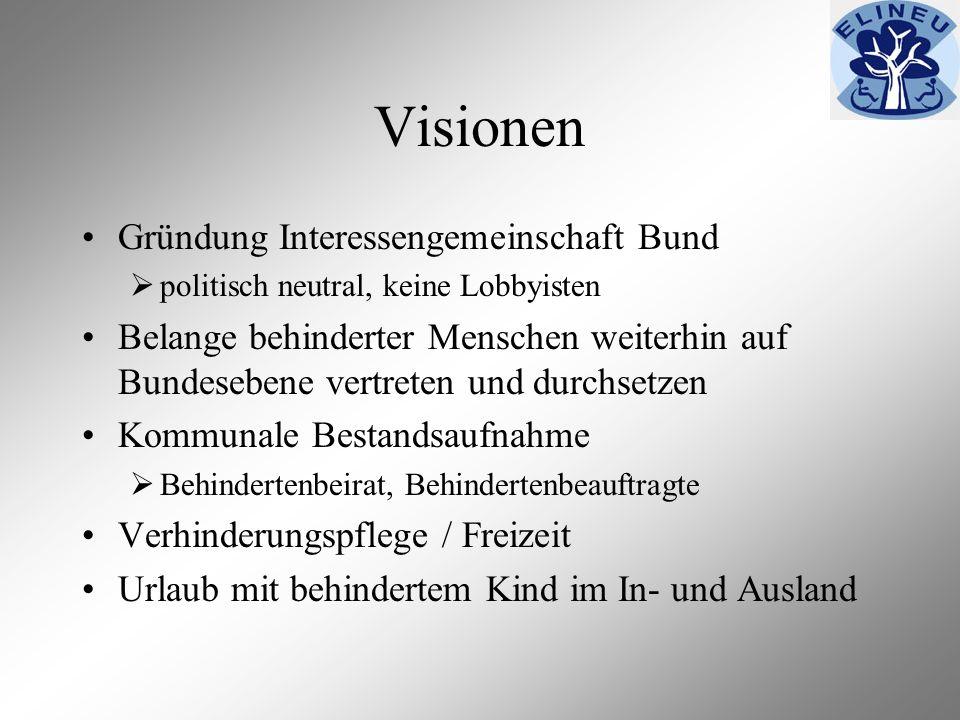 Visionen Gründung Interessengemeinschaft Bund