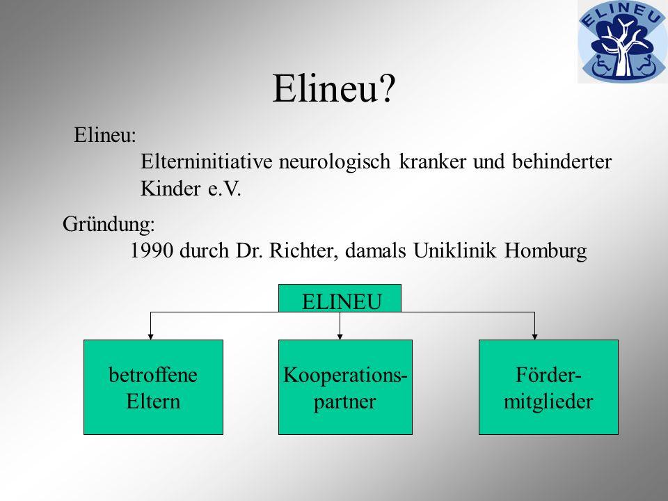 Elineu Elineu: Elterninitiative neurologisch kranker und behinderter