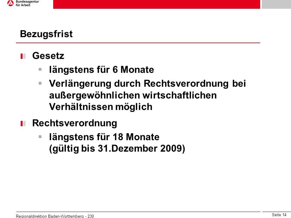 längstens für 18 Monate (gültig bis 31.Dezember 2009)
