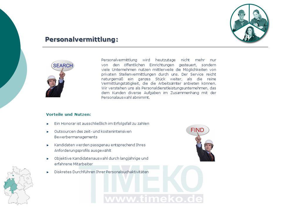 Personalvermittlung: