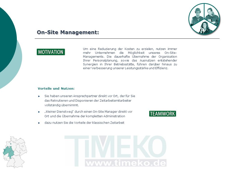 On-Site Management: