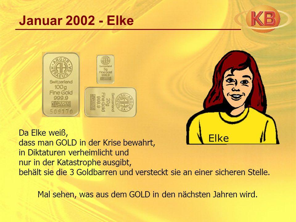 Januar 2002 - Elke Elke Da Elke weiß,