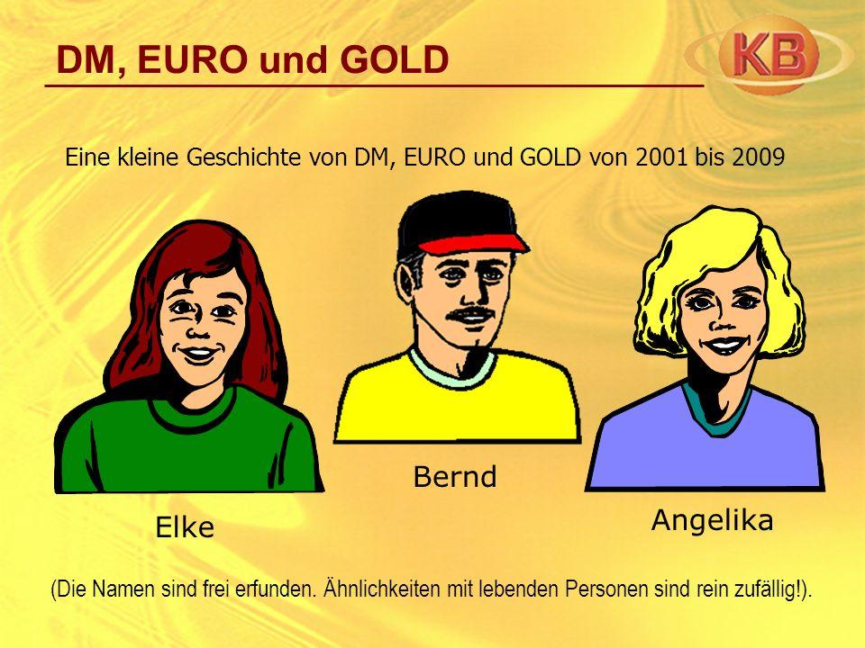 DM, EURO und GOLD Bernd Angelika Elke