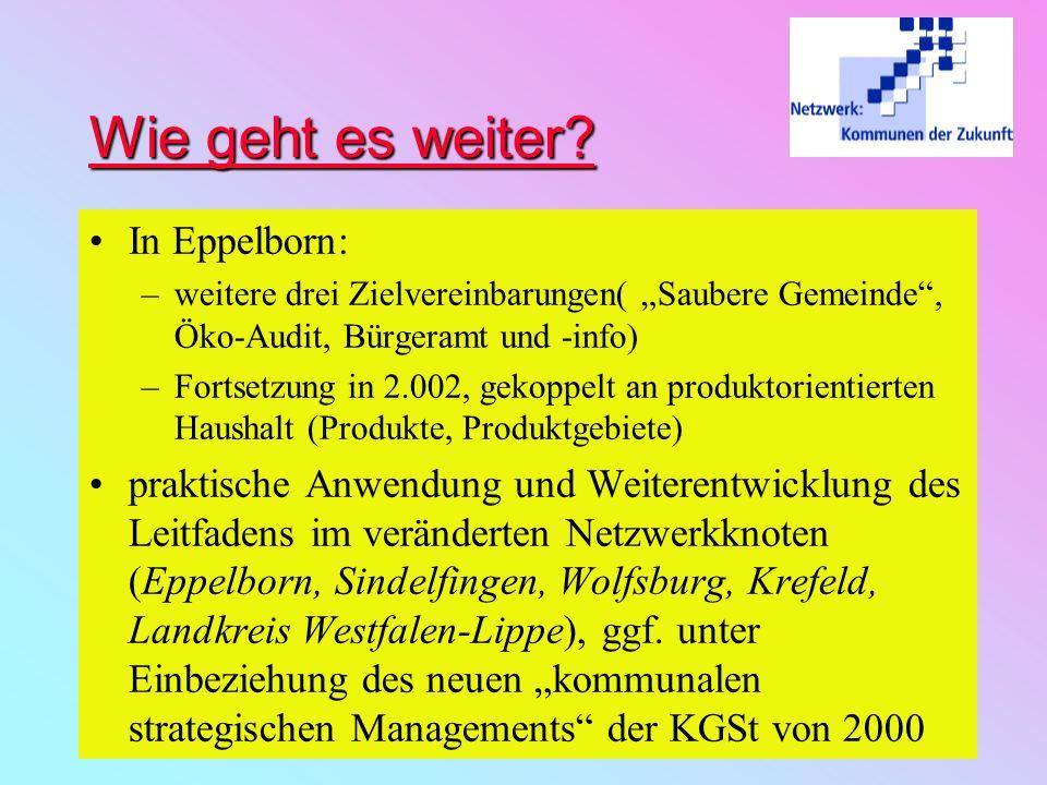 Wie geht es weiter In Eppelborn: