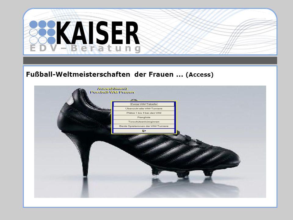 Fußball-Weltmeisterschaften der Frauen ... (Access)