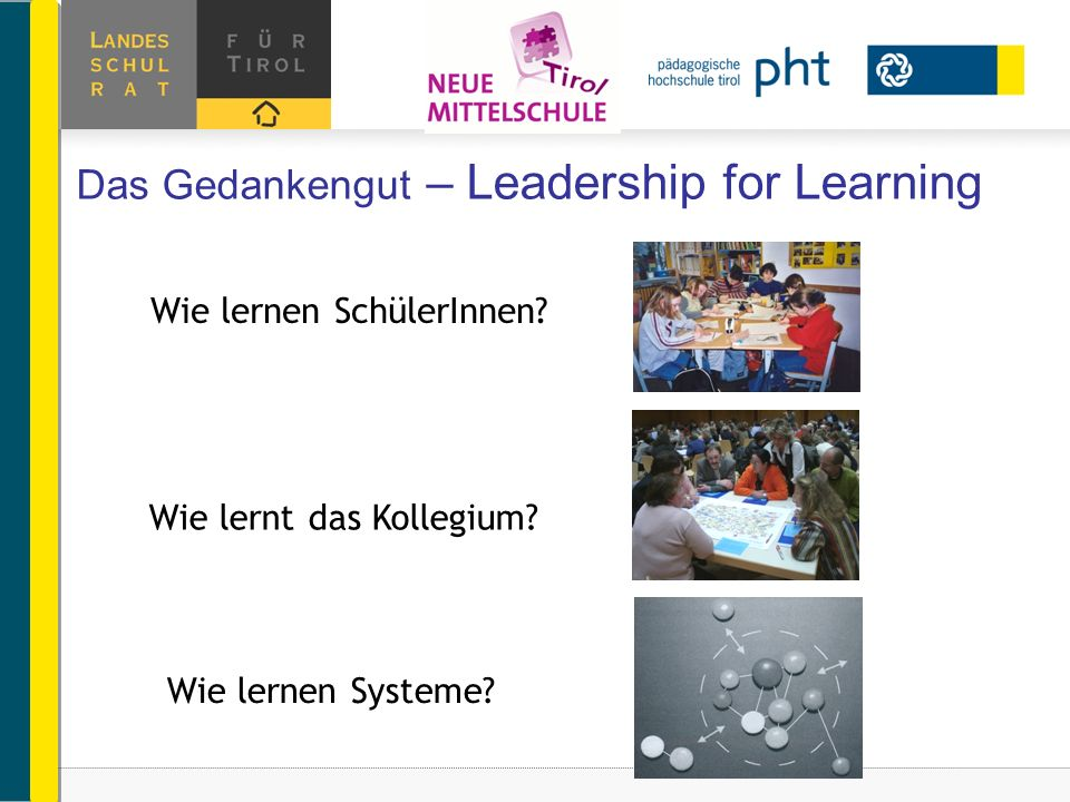 Das Gedankengut – Leadership for Learning