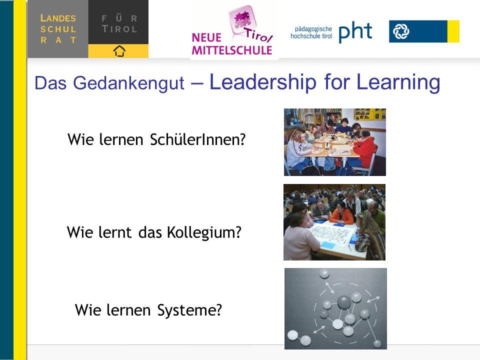 Das Gedankengut – Leadership for Learning