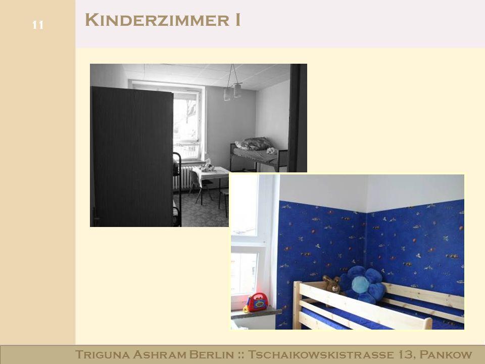 Kinderzimmer I Triguna Ashram Berlin :: Tschaikowskistraße 13, Pankow