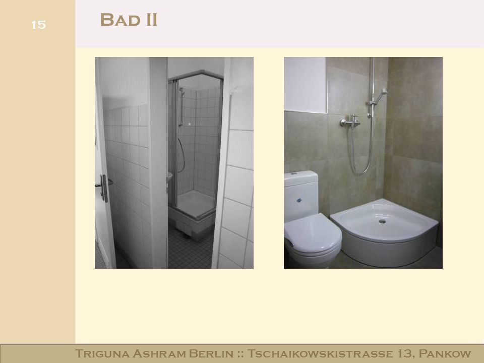 Bad II Triguna Ashram Berlin :: Tschaikowskistraße 13, Pankow