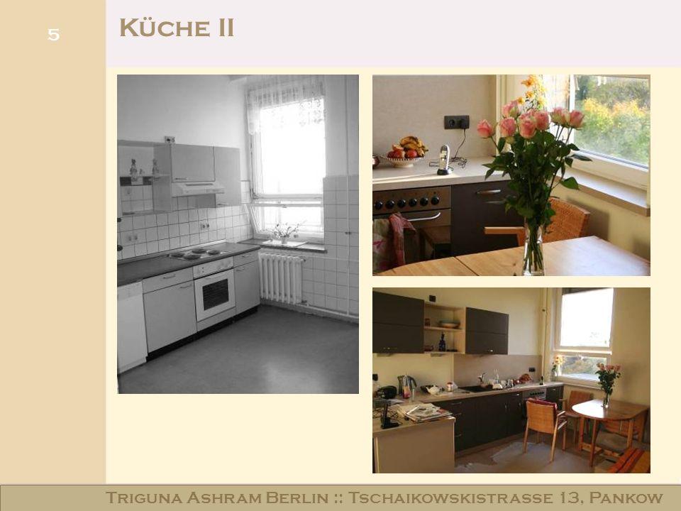 5 Küche II Triguna Ashram Berlin :: Tschaikowskistraße 13, Pankow