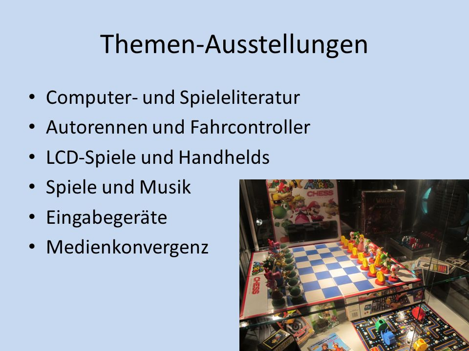 haus der computerspiele ppt video online herunterladen. Black Bedroom Furniture Sets. Home Design Ideas