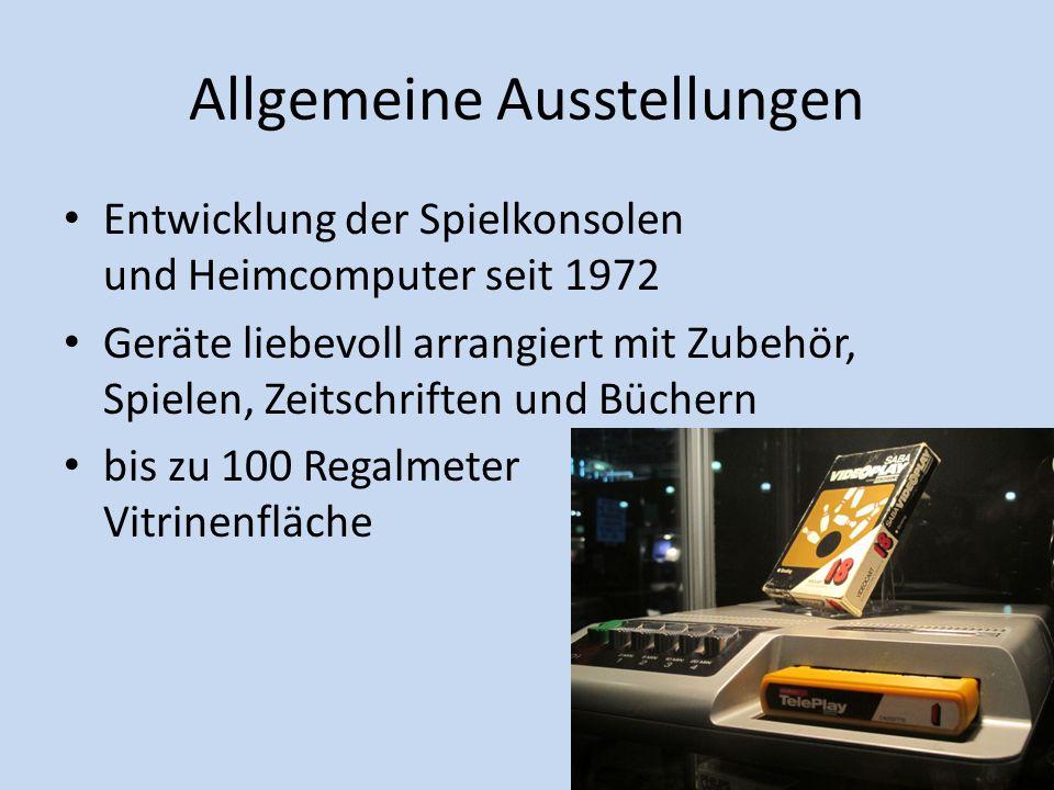 Allgemeine Ausstellungen